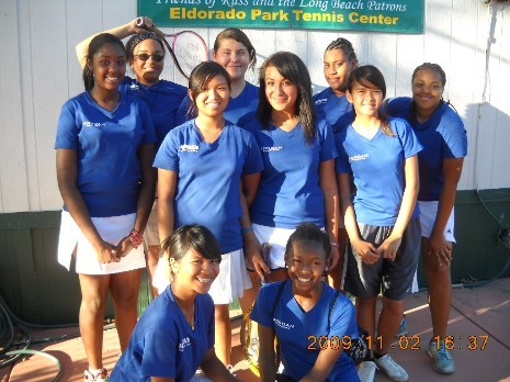 Girls Tennis 2009
