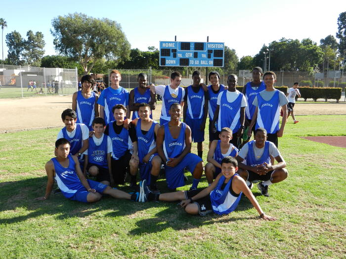 2012 Boys Cross Country Team