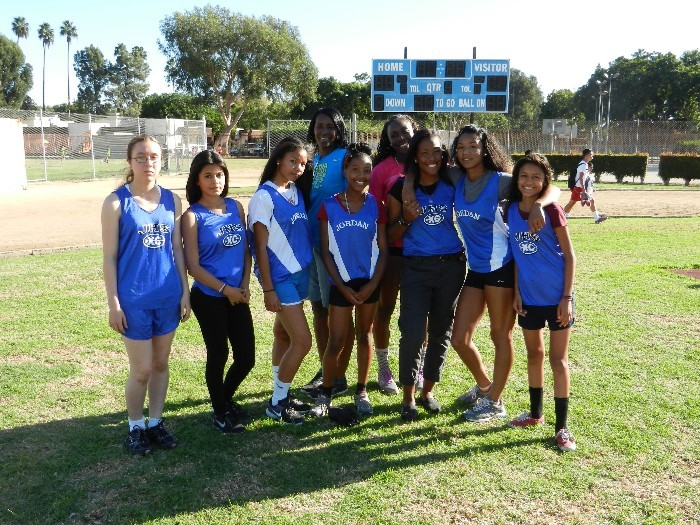 2012 Girls Cross Country Team