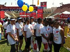 First Annual Revlon Run Walk